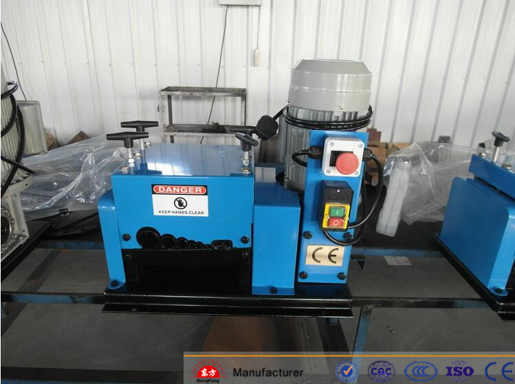 DF-009 stripping / soldering / cutting / twisting wire machine / cable making machines
