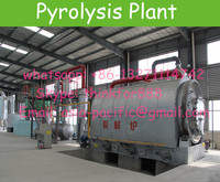waste plastics pyrolysis equipment, pyrolysis plant, plastics to oil refining equipment