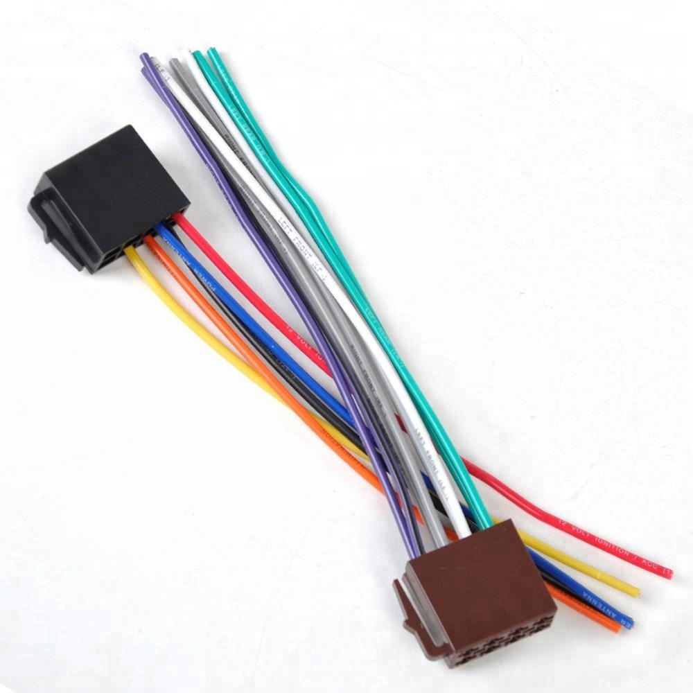 Wholesale Automobile Harness Online Buy Best About Nissan X Trail 2007 Iso Wiring Adaptor Cable Connector Audio Video Wire Strongharness Strong
