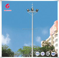 8 - 15m Electric lift Middle high mast lights price list lights and lightings