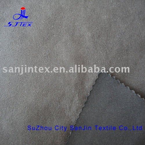 weft 6 suede fabric