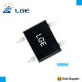 MB2M MB4M MB6M MB8M MB10M 1A axial single phrase bridge diode