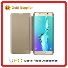 [UPO] Clear View Mirror Phone Cover phone case for Samsung Galaxy S6 / Galaxy S6 Edge cases Wholesale