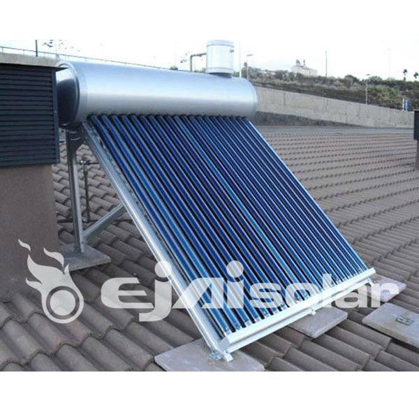 heat pipe vacuum tube solar water heater for home