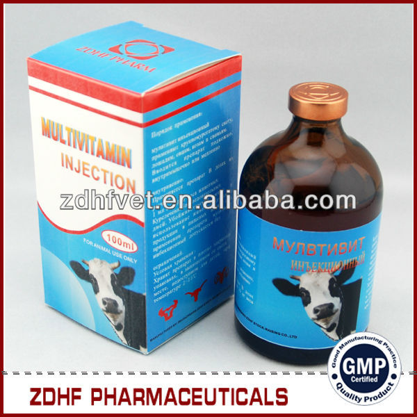 veterinary cattle horse care product multi Vitamin b1 b6 b12 injection for growth sheep