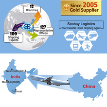 Cheap air cargo freight forwarder shipping servcie from china to india new delhi mumbai