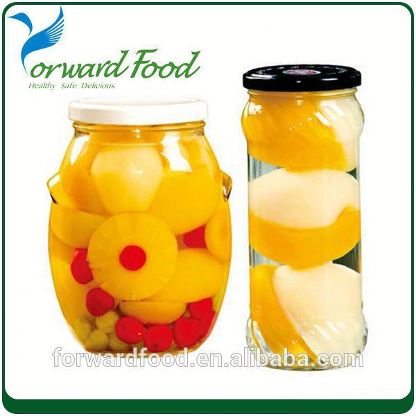 Caned Canned Tropical Fruit Cocktail In Juice