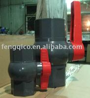 PVC ball valve with long handle