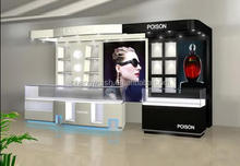 cosmetic shop display showcase/mall exclusive display/display shop shelf design
