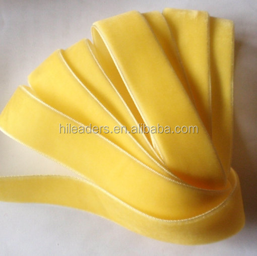 China Manufacturer Better Quality 100% Nylon Velvet RIbbon