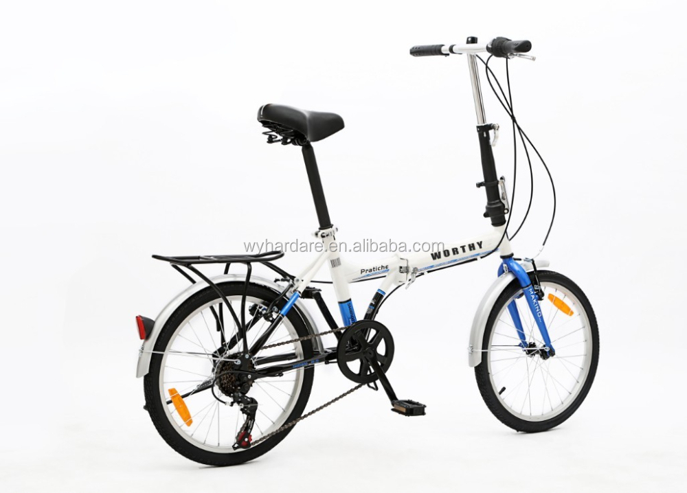 6 speed 20 inch mini kid pockt folding bike
