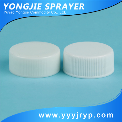 24/400 white thread plastic bottle cap