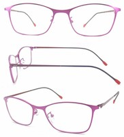 China wholesale fashion lady clear optical frames