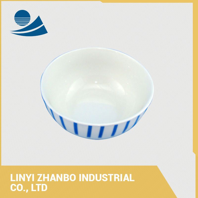 Chinese low water absorption large ceramic soup bowls