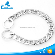 Strong stainless steel metal chain used for dog pets