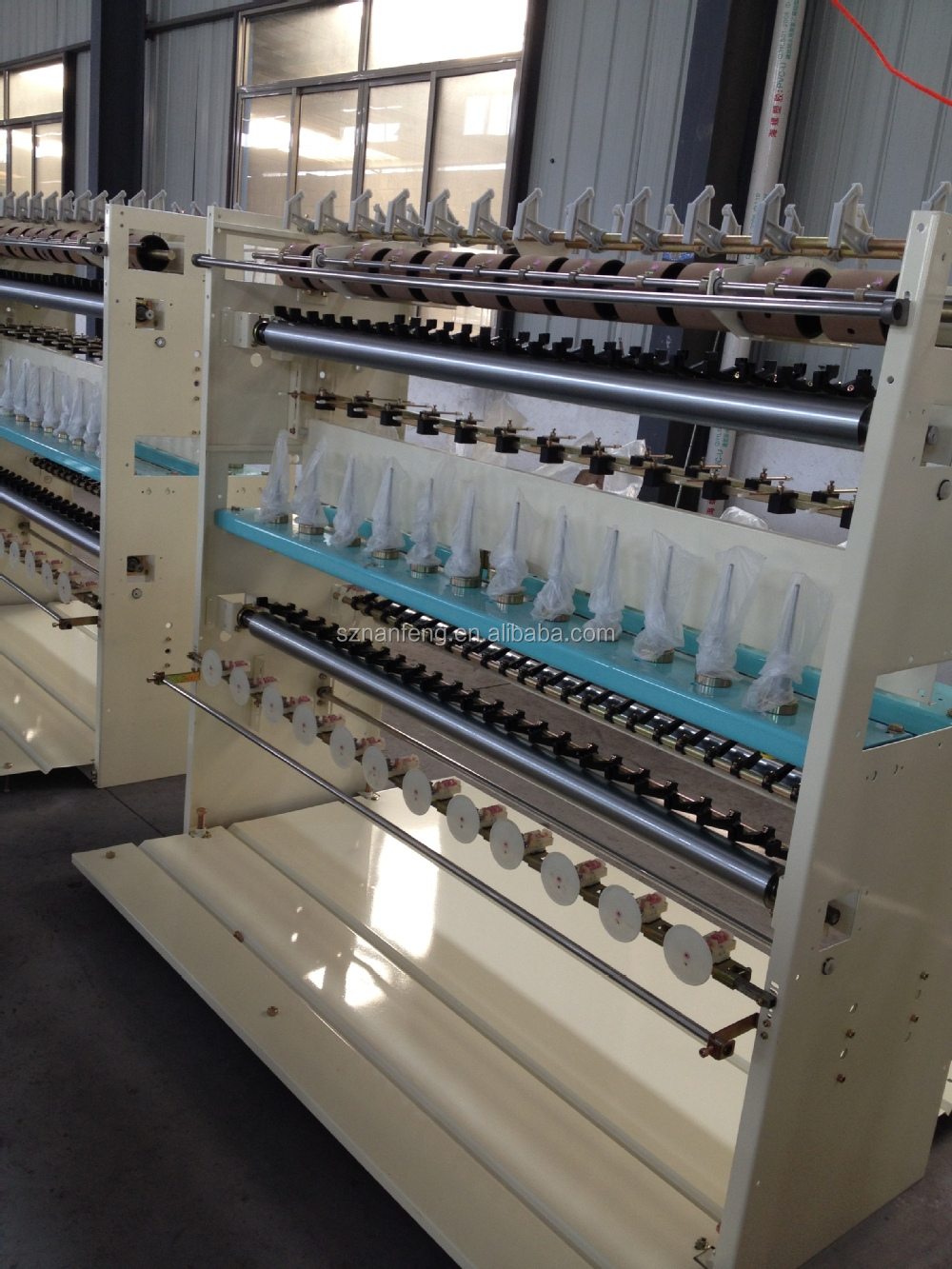 Embroidery Thread Covering Machine