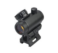 (BM-RSN6046) 1x28 Tactical Red Dot Scope with 30mm Cantilever Weaver Mount 5 Red Green Dot AR15 M4 AK Weapon Sight