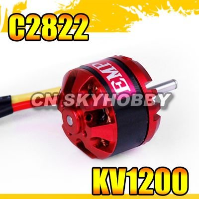 rc model airplane Outrunner Brushless Motor C2822 1200kv