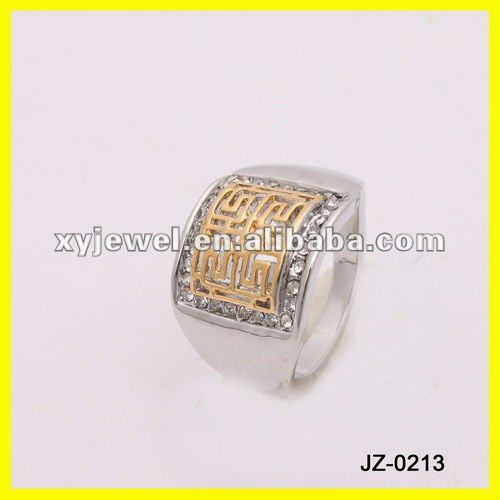 factory price mens silver mens silver gypsy ring