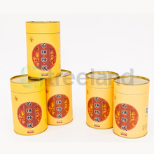 custom safe biscuit cookie box paper tube packaging paper tube with tin lid
