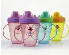 Training Kids Sipper Cup Wholesale Baby Cup BPA free Sippy Cups With handle