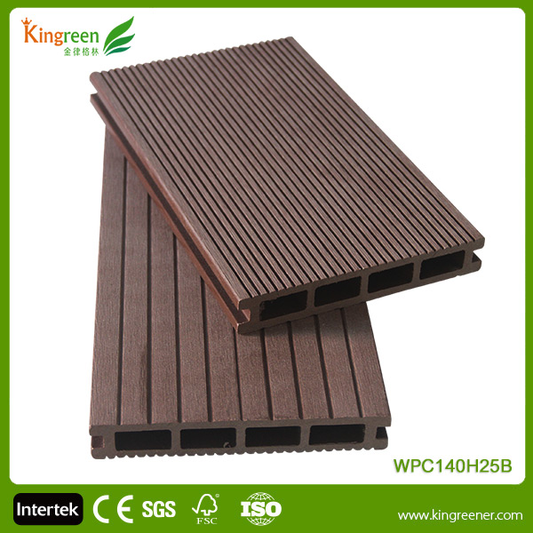 Cheap Decking Boards Outdoor Wood Plastic Decking WPC Flooring Manufacturers