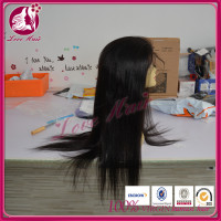 Instock diamond quality full lace wig glitter color natural black rapture straight brazilian hair