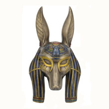 2017 New Arrivel Best Selling Eco-friendly Realistic Rubber Latex Anubis Mask New Design Carnival Party Mask for Sale