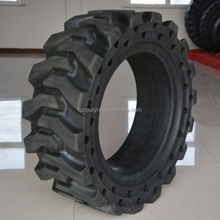 33x12x20 cushion tyre, skid steer loader tire with wear resistance