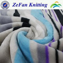 100%polyester printed flannel fleece fabric