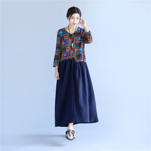 2017 Hot Sale Ladies Summer <strong>Dress</strong> Printed Baroque Pop Unique Patchwork <strong>Dress</strong>