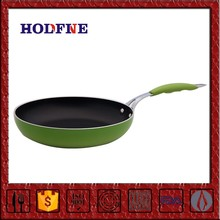Home Kitchen Non-stick Cookware Set or Singleton with Handle Copper Bottom Stainless Steel Fry Pan