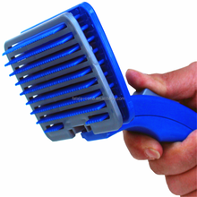 Plastic pet brush remove animals hair grooming tools for pets
