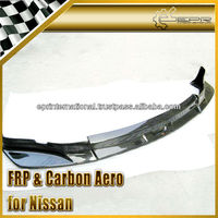 For Nissan Z33 350Z Fairlady CW Carbon Fiber Front Lip Spoiler