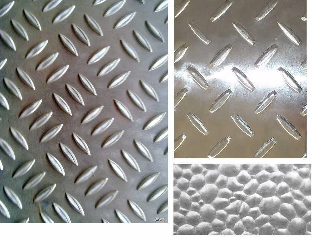 embossed aluminum plate,7075 t6 or 7075 T651,Thread checker plate
