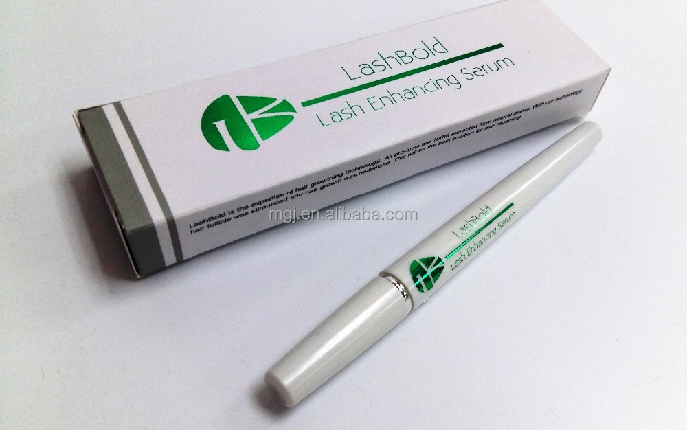 LashBold OEM Private Label Herbal Natural Eyebrow Eye Lashes Growth Enhancing Serum