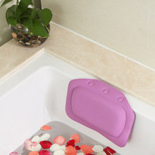 Bathroom Supplies waterproof bathtub spa bath pillow with suction cups Head Neck Rest Home & Garden pillows