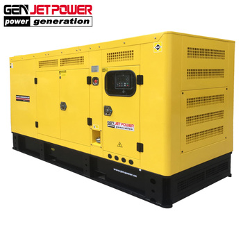 Canopy silent diesel 310kva 250kw top land generator price for industrial purpose