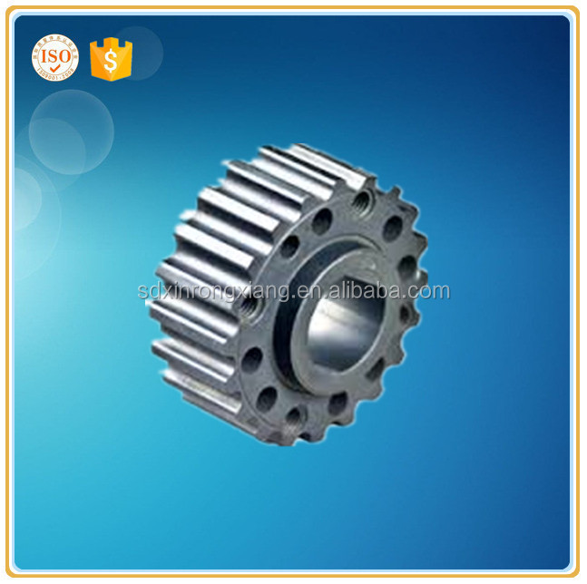 OEM ductile iron lost wax casting gear for automobile