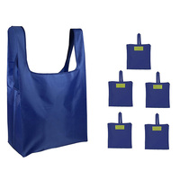 OEM Factory Direct Suppy Foldable Shopping Bag 190T Polyester