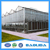Multi Span Glass Greenhouse For Agriculture