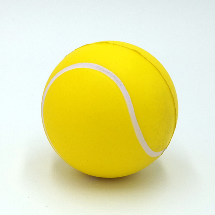 Promotional Customized Logo Imprinted ECO Friendly Biodegradable Pu Foam Stress Tennis <strong>Ball</strong>