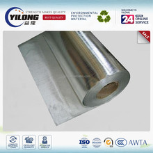fire resistant thermal insulation aluminum coated polyester fabric