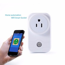 Wifi Smart Timing Plug Socket, Wireless Outlet Socket Turn ON/Off Electronics Remote Control Switch Via Android/iOS App for Hous