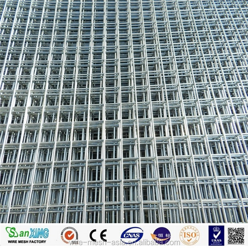 10 gauge galvanized welded wire mesh / welded wire mesh panel with low price