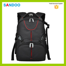 manufacturer china high quality black waterproof laptop backpack,classic dslr camera backpack