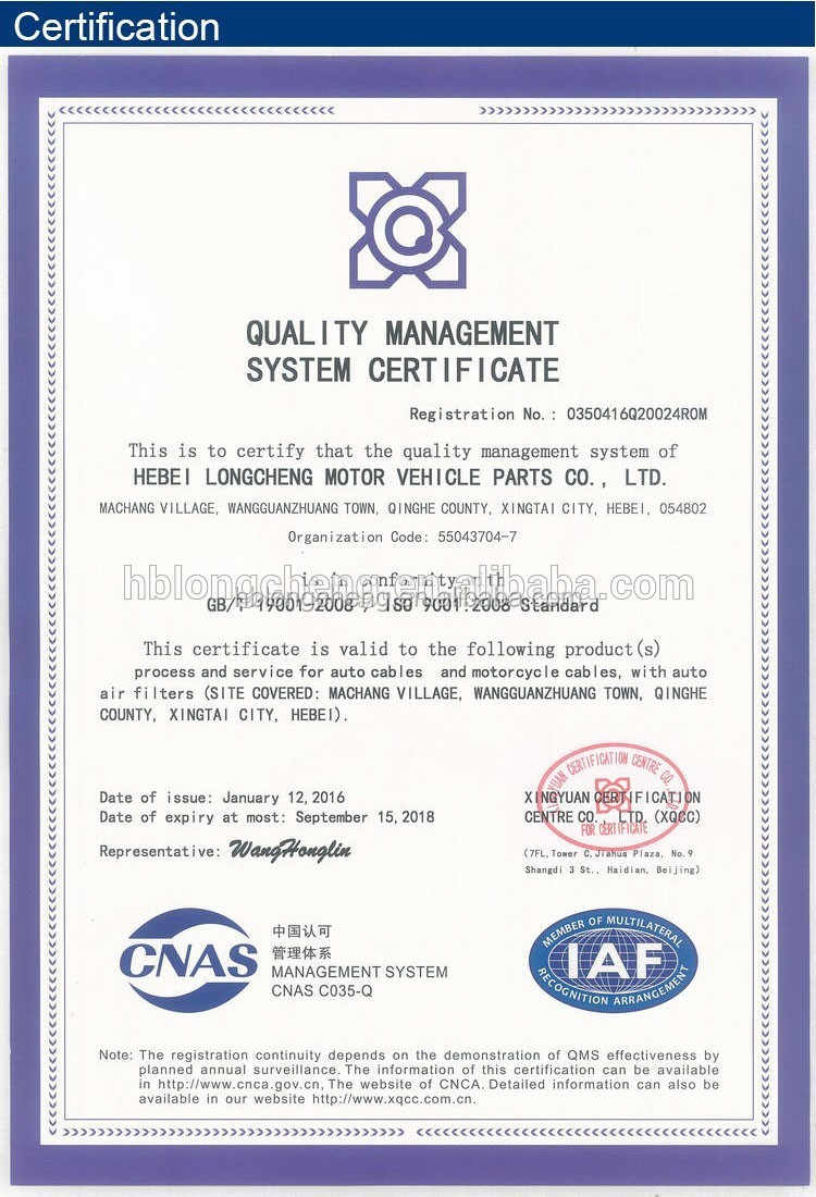 Quality auto air filter manufacturer for Toyota Volvo