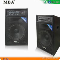 speaker factory MBA outdoor dance and singing big power stage trolley speaker