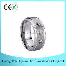 2016 Hot Selling Unique Tungsten Claddagh Rings,Mens Wedding Bands With Step Edge,Tungsten Cock Ring Men Jewelry