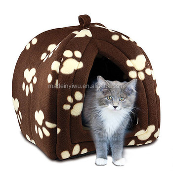 Fleece Pet Hut